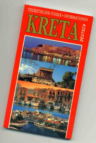 Touristischer Führer Kreta von Adam Editions ca. 1993