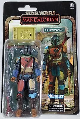 Star Wars Disney The Mandalorian Black Series Collection 6 Kenner Action Figure - $37.85