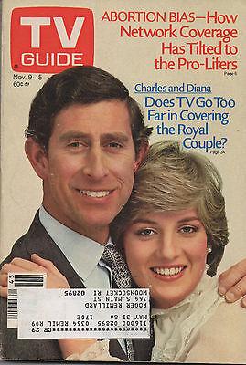 1985 TV Guide Charles and Diana Nov. 9-15