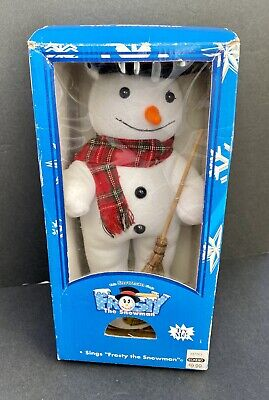 Vintage Gemmy 1996 Frosty The Snowman Animated Sings Frosty The Snowman Rare