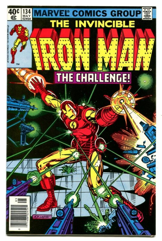 IRON MAN # 134
