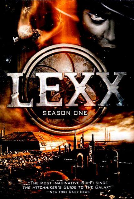 NEW DVD SET // LEXX SEASON ONE //  6 + HOURS // Eva Habermann