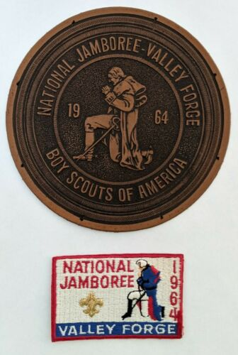 National Jamboree 1964 Boy Scouts - patch and leather patch