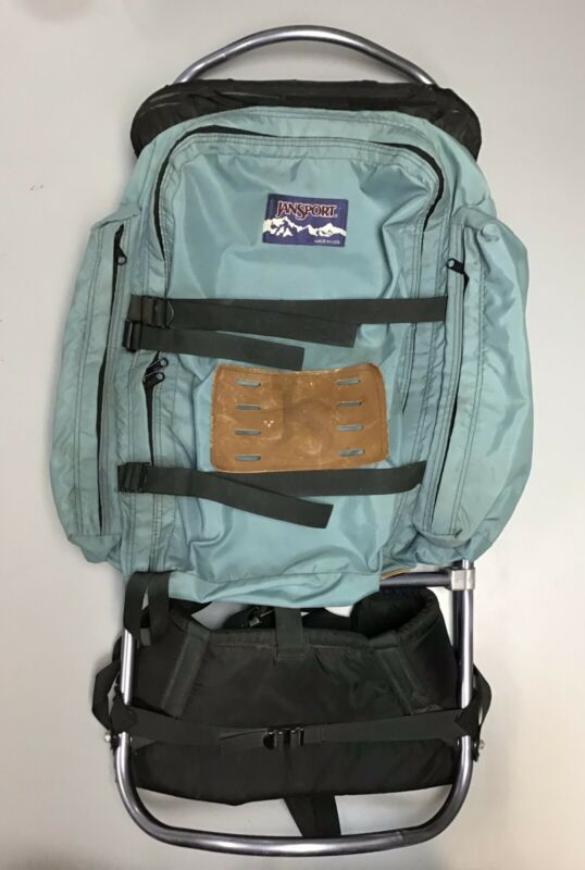 Jansport External Frame Teal Backpack w/ Hip Support System - Great Condition