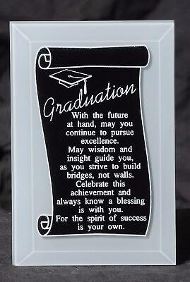 Graduation Keepsake Plaque