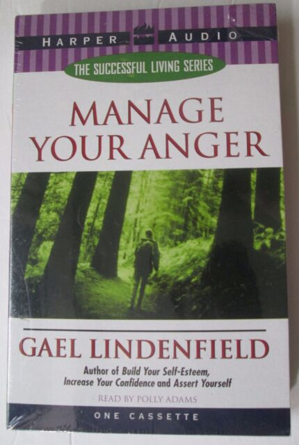 New Sealed: Manage Your Anger by Gael Lindenfield (Audiobook (Cassette), 1998)