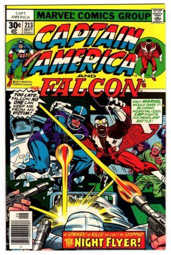 Captain America #213 Sept 1977 VF+ 8.5 Marvel Comics