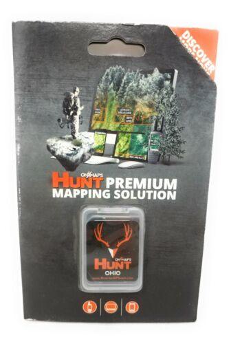 onXmaps HUNT GPS Chip for Garmin Units + 1-Year Premium Membership, Ohio 209004