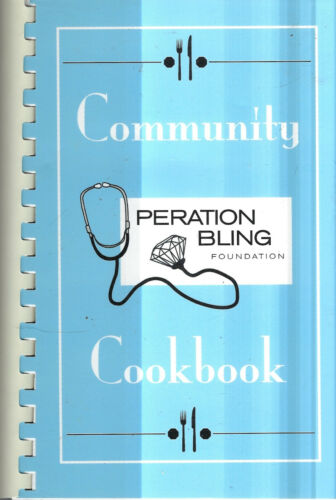 NEW PROVIDENCE NJ 2013 OPERATION BLING COMMUNITY COOK BOOK NEW JERSEY COMMUNITY