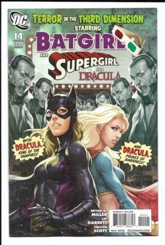 Batgirl # 14 / Stanley Artgerm Lau Cover / Supergirl / Dracula / 2010