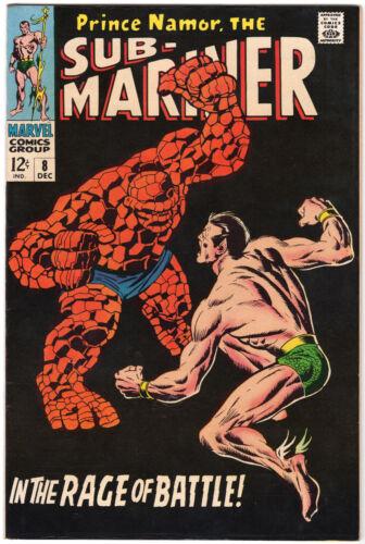 "SUB-MARINER #8 - ""NAMOR VS THE THING""! NEAR MINT"