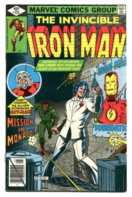 IRON MAN # 125