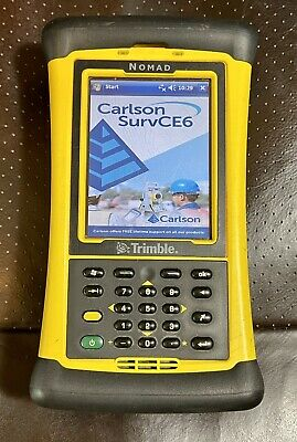 Trimble Nomad Survey Data Collector Total Station Gps Robotic Pro Bluetooth Wifi