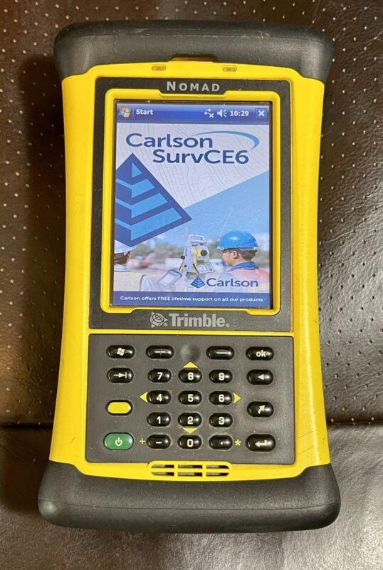 Trimble Nomad Survey Data Collector Total Station GPS Robotic Pro Bluetooth WiFi