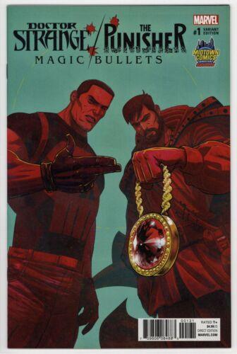 Doctor Strange Punisher Magic Bullets #1 Run the Jewels MIDTOWN Variant * 2016