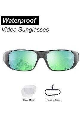 Waterproof Video Sunglasses,32GB Ultra 1080P Full HD Outdoor Sports Action (Waterproof Video Sunglasses)