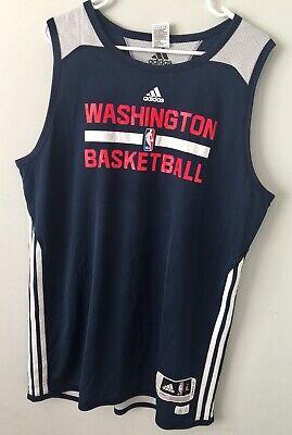 Washington Wizards NBA Men's Adidas Basketball Adidas Reversible Practice Jersey