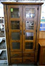 New Timber Farmhouse Display Cabinet Shelves 4 Drawer Storage Melbourne CBD Melbourne City Preview