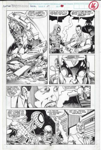 AMAZING SPIDER-MAN ANNUAL # 27 PAGE 16 TOM LYLE SCOTT HANNA 1993 GREAT IMAGE