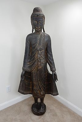 Antique Burmese Mandalay Buddah 72 inches