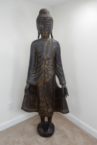 Antique Burmese Mandalay Buddah 72 inches