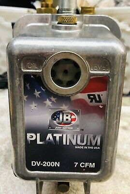 Jb Industries Dv-200n Platinum 7 Cfm Vacuum Pump