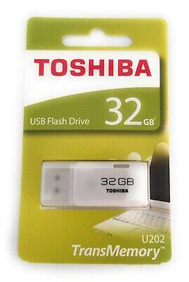 Memoria USB Toshiba Hayabusa U202 32GB Blanco