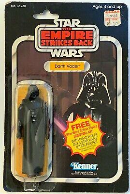 Star Wars 1980 Vintage Kenner ESB 41 Back A Darth Vader MOC