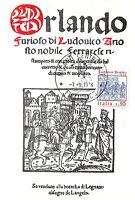 Cartolina - Maximum - Ariosto - Orlando Furioso - 1974 -  - ebay.it