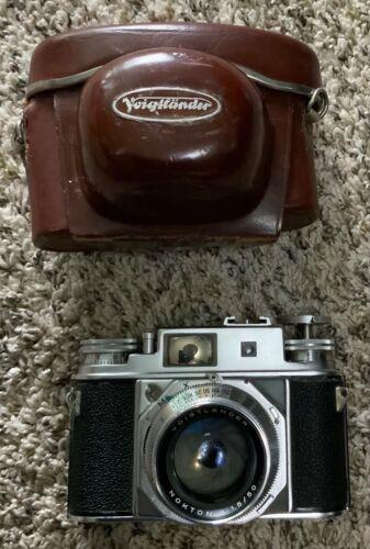 Voigtlander Prominent II Camera + Nokton 1:1.5/50 Lens  + Carrying Case