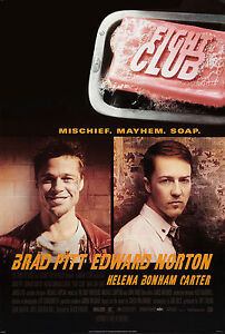 Fight Club (1999) Movie Poster New 24