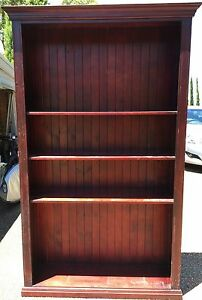 Classic Timber Bookcase Barden Ridge Sutherland Area Preview