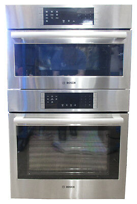 "Bosch HBL8751UC 30"" Speed Microwave and Wall Oven Combo"