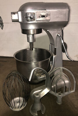 Genuine Hobart A-200 20 Qt Commercial Mixer W Whiskpaddle Hook Ss Bowl