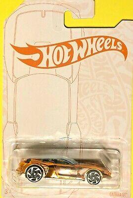 Hot Wheels 2020 Pearl & Chrome GAZELLA GT GJW55 Gold Chrome CHASE