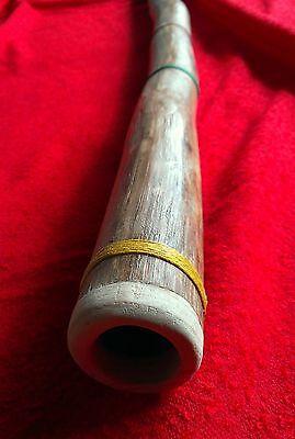 Didgeridoo artigianale in legno di Agave tonalità (SOL)
