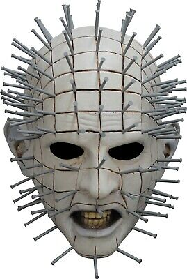 Ghoulish Productions Licensed Hellraiser III Pinhead Cenobite Mask Horror Scary