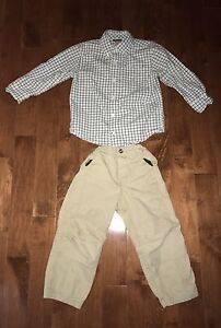 5 item lot of boy's clothing size 3-4 Gymboree Roots