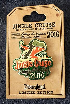 DISNEY PARKS JUNGLE (JINGLE) CRUISE PIN! NEW!