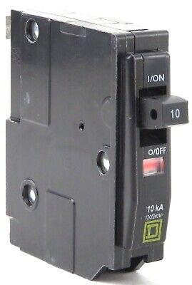 Square D Type Qo Circuit Breakers Qo110 Qo120 Qo215 1p 10a 1p 20a 2p 15a