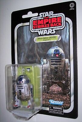 "Star Wars 6"" Black Series 40th Anniversary R2-D2 DAGOBAH New Sealed Dmgd Pkg"