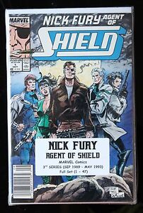 NICK FURY AGENT OF S.H.I.E.L.D. COMPLETE SET (1 - 47) 3rd SERIES