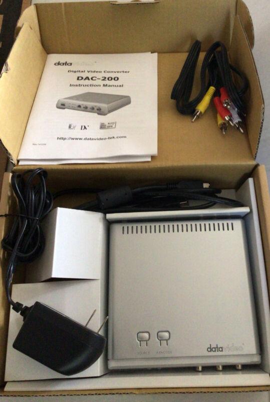 DataVideo / DAC-200 / Digital Video Converter