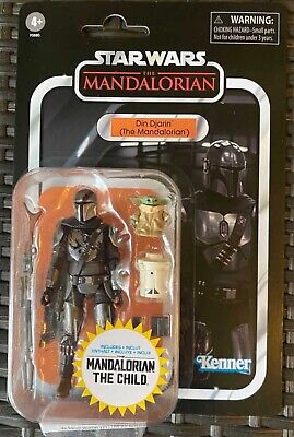 Star Wars Vintage Collection Din Djarin & Child Mandalorian IN HAND SHIPS NOW