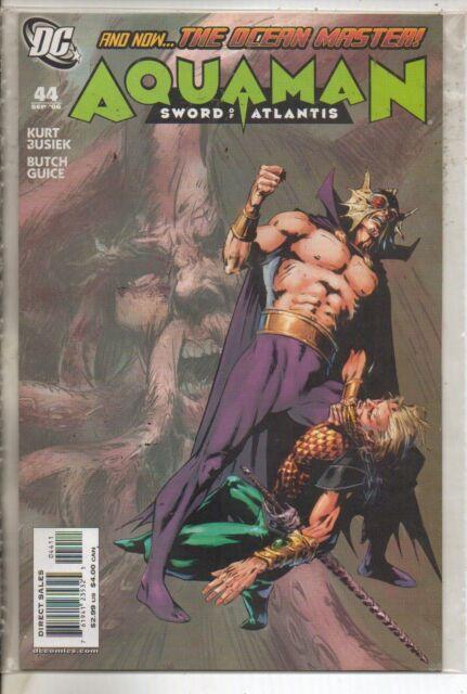 DC COMICS AQUAMAN SWORD OF ATLANTIS #44 SEPTEMBER 2006 1ST PRINT VF