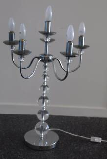 Gorgeous candelabra lamp