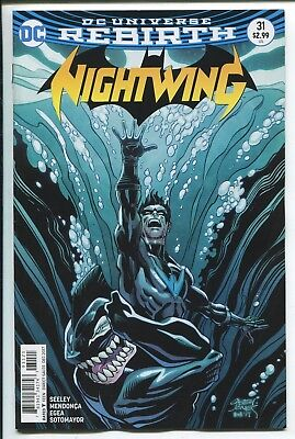 NIGHTWING #31 - REBIRTH - CASEY JONES VARIANT COVER - DC COMICS/2017