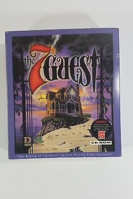 The 7th GUEST by Virgin Trilobyte Big Box PC Game CD-ROM Adventure DOS 5.0 +