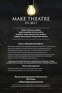 Make Theatre 2017 Bundall Gold Coast City Preview