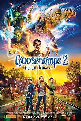 Halloween Haunt Movie (Goosebumps 2: Haunted Halloween Movie Poster (24x36) - McLendon-Covey, Iseman)